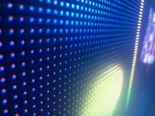 zoom écran LED
