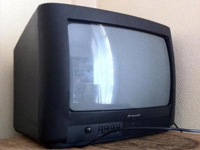 televiseur cathodique
