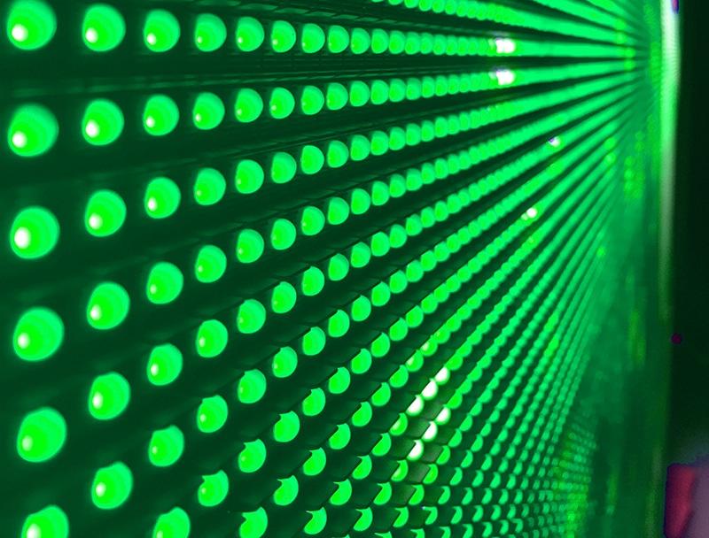 LED écran géant - pitch