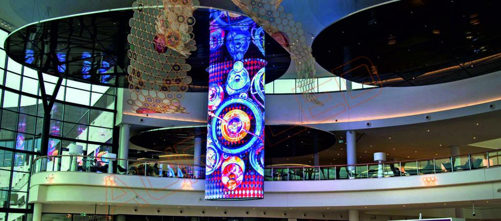 écran géant mesh, décoration