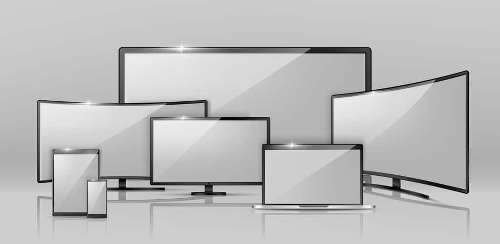 différents écrans