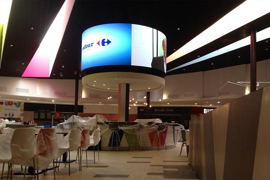 écran géant 360 vision - Playce Marcory - Abidjan