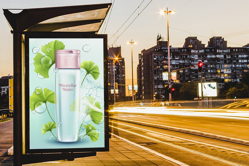 afficha dynamique publicitaire
