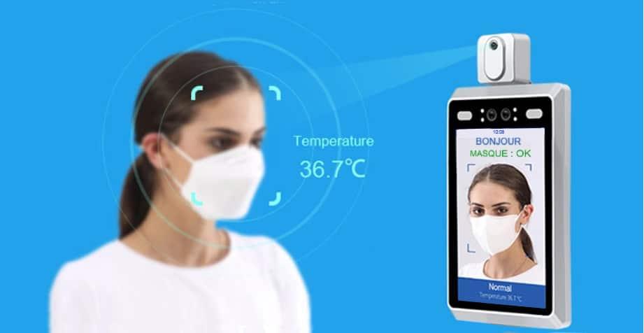 borne détection de température