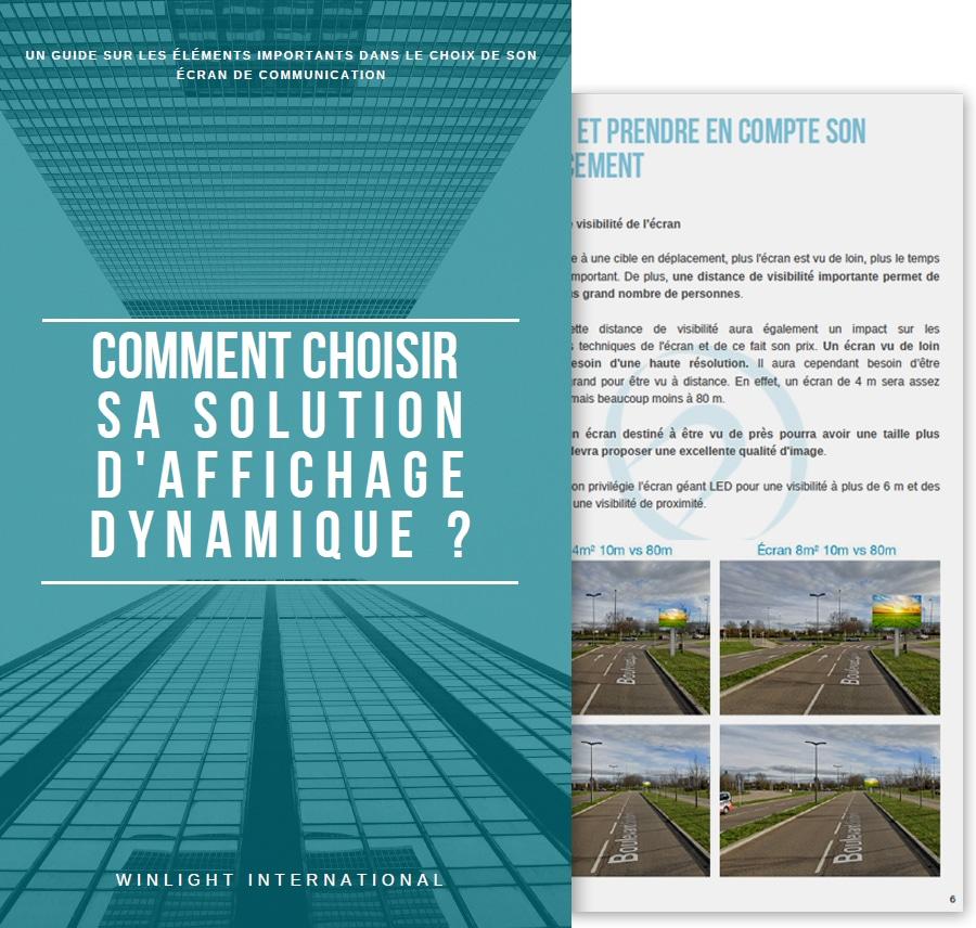 aperçu guide affichage dynamique
